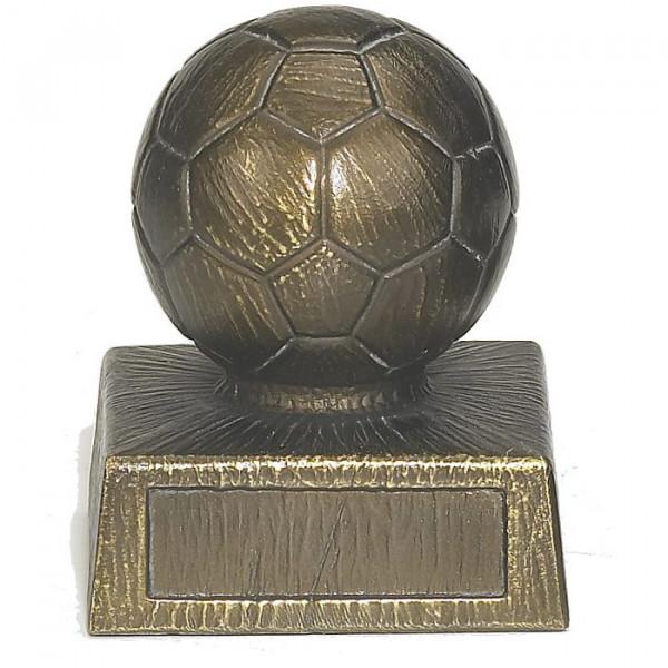 Siegertrophäe Fußball Champion Cup Vereinspreis Ehrung Metalloptik