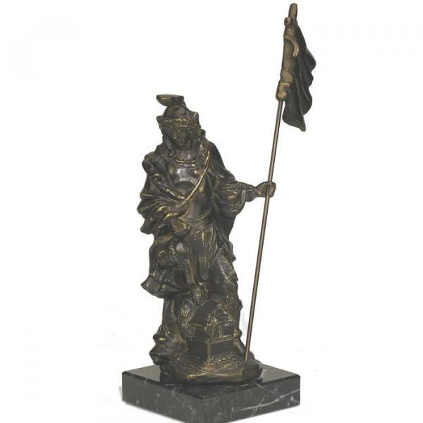 Edle Figur Heiliger Florian Feuerwehr Schutzpatron Pokal
