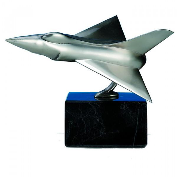 Außergewöhnliche Figur Flugzeug Jet Pilot Trophäe