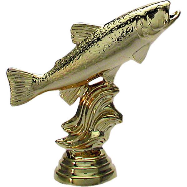 Pokal Angler Figur Forelle