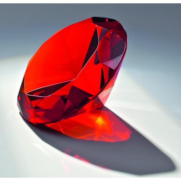 "Kristallglas Diamant ""Red Diamond"""