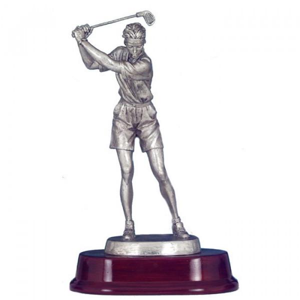 Figur Golf Verein Trophäe Auszeichnung Damen