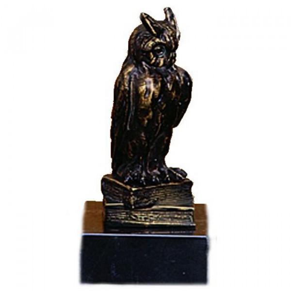 Exklusive Metall Figur Eule Wanderpokal Siegerpreis