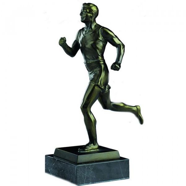 Edle Sieger Figur Leichtathletik Läufer Ehrentrophäe