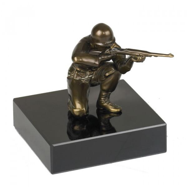 Edle Ehren Figur Soldat Trophäe Veteran Auszeichnung