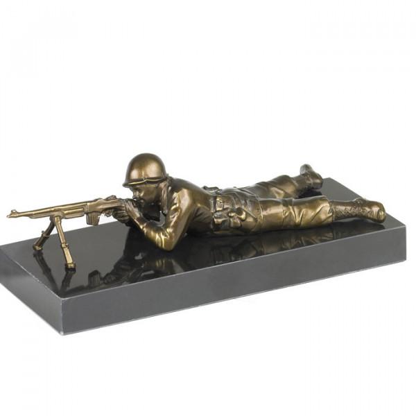 Figur Schütze Soldat Kriegsehrung Veteran Auszeichnung Edles