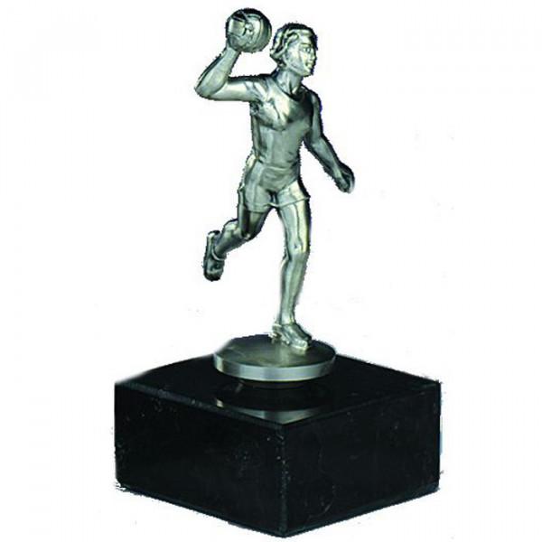 Figur Handball Damen Siegertrophäe Sportpreis Anpruchsvoll Gefertigt