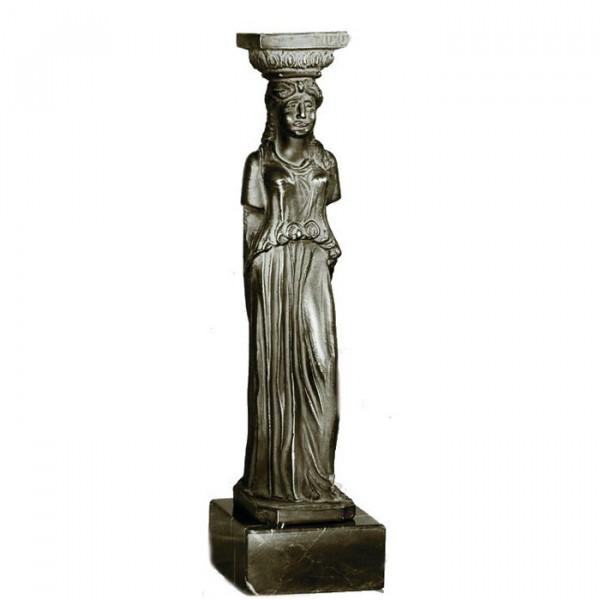 Exklusiv Figur Kore Erechteion Akropolis Antikes Griechenland