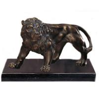 Figur Löwe Zoo Raubtier Dompteur Pokal Anerkennung Edle Optik
