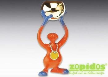 Pokal Bibo Orange Trophäe für Kinder die kleinen Gewinner