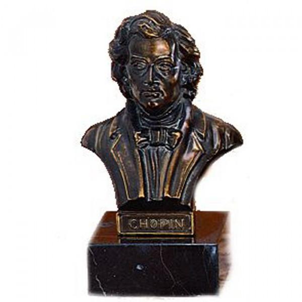 Hochwertige Büste vom Pianist Frédéric Chopin