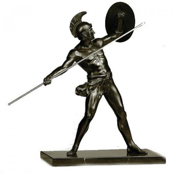 Aufwendige Figur Gladiator Kämpfer Antikes Grichenland