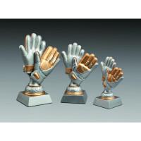 Fussball Figur Torwart Handschuh