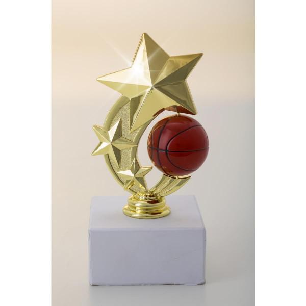 Komplettfigur Basketball Pokal