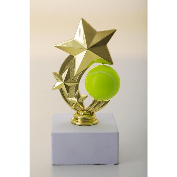 Komplettfigur Tennis Pokal