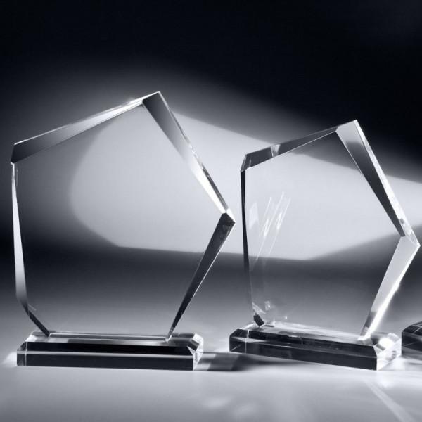 "Acrylglas Trophäe ""Stone"""