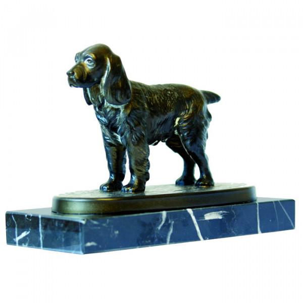 Hochwertige Figur Cocker Spanier Hund Auszeichnung Trophäe