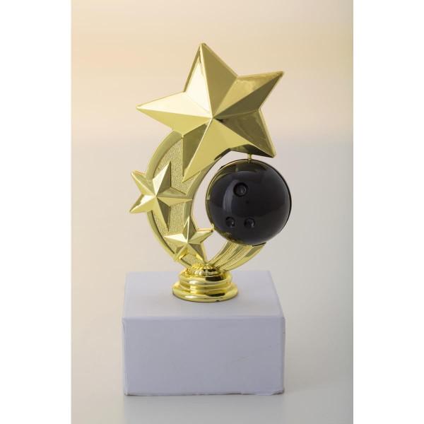 Komplettfigur Bowling Pokal