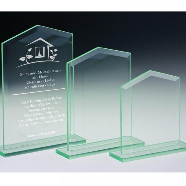 Glasaufsteller Glashaus