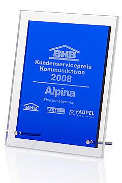 Blue Angular Award Karen