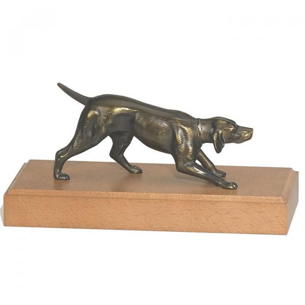 Attracktive Figur Hund Spürhund Hundetraining Auszeichnung Trophy