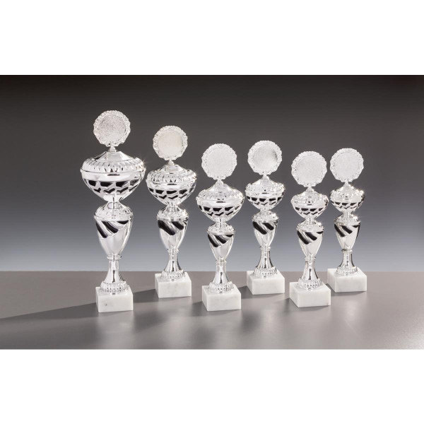 Pokal Silber-Schwarz Pamela