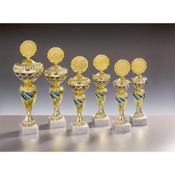 Pokal Gold-Blau Reeva