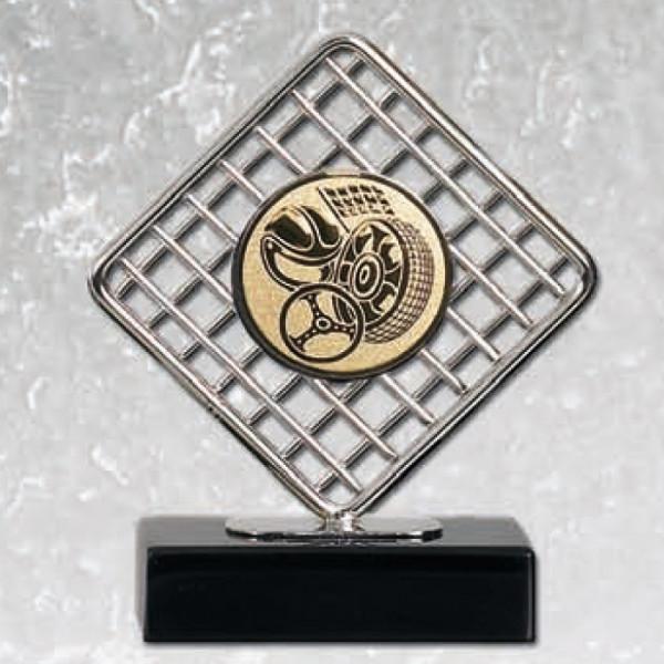Hochwertige Edelstahltrophäe Vereinssport Sieg Trophy
