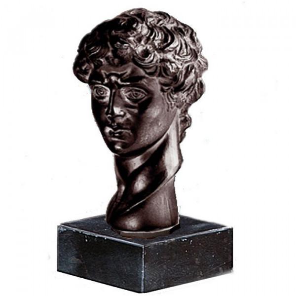 Hochwertige Figur David Büste italienische Renaissance Michelangelo