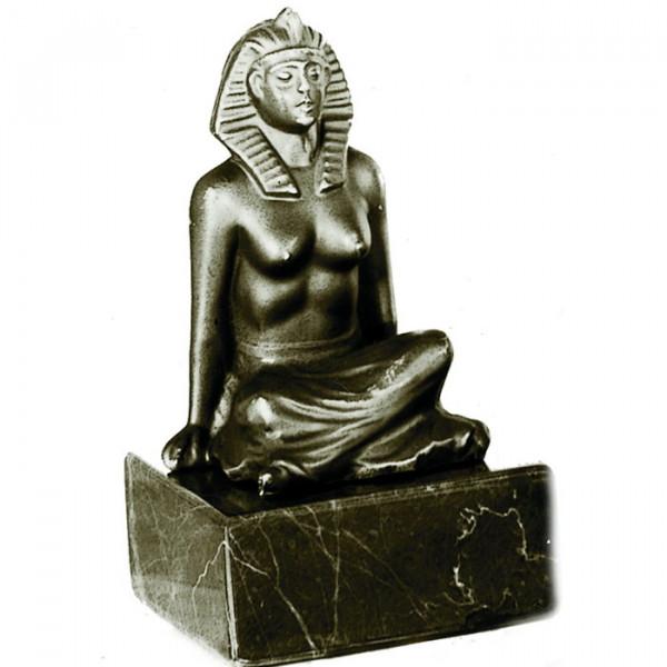 Hochwertige Figur Ägypten Pharaonin Aufwendiges