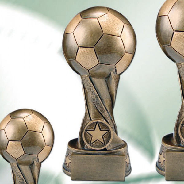 Sieger Figur Fußball Wanderpokal Champion Cup Trophäe Award