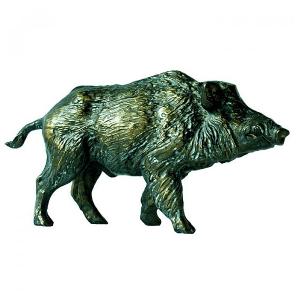 Elegante Figur Wildschwein