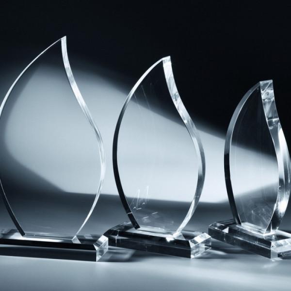 Acrylglas Award - Flamme