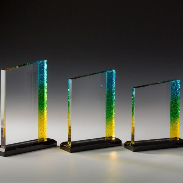 "Acrylglas Pokal ""Regenbogen"""