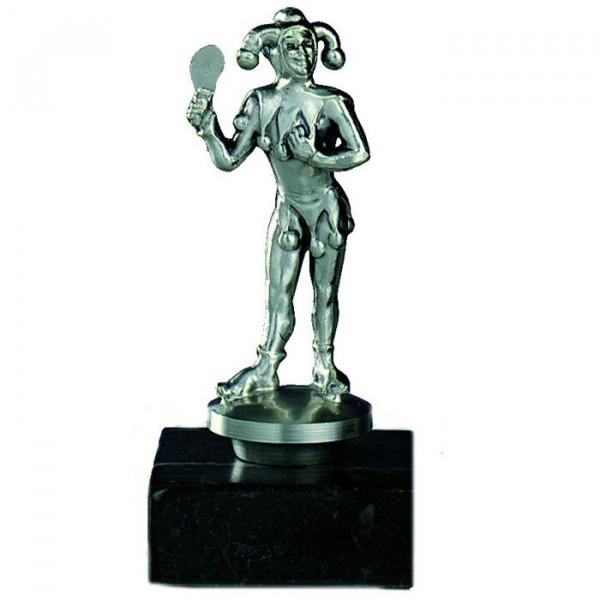 Figur Eulenspiegel Karneval Verein Edle Silberoptik Ehrenpreis Pokal