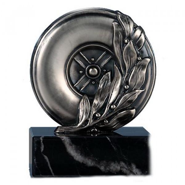 Exklusive Trophäe Motorsport Rad Automobilpokal Ehrung