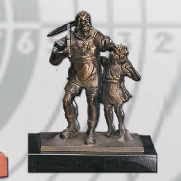 Figur Wilhelm Tell Sohn Trophäe Ehrenpreis Verein