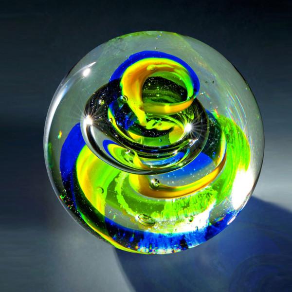 "Kristallglas Kugel ""Bunte Magie"""
