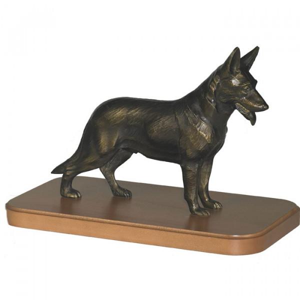 Elegante Figur Schäferhund Wachhund Vereinsauszeichnung