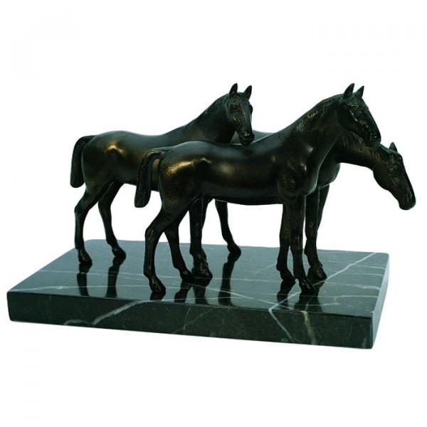 Exklusive Figur Pferde Rösser Tiergruppe Auszeichnung