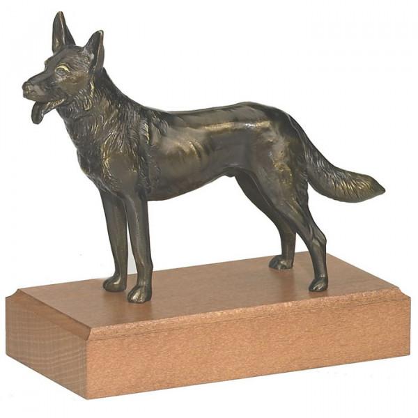 Hochwertige Figur Schäferhund Hundesport Trophäe Pokal