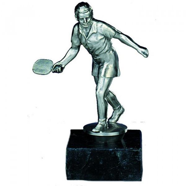 Sport Figur Tischtennis Herren Wanderpokal Trophy Edles