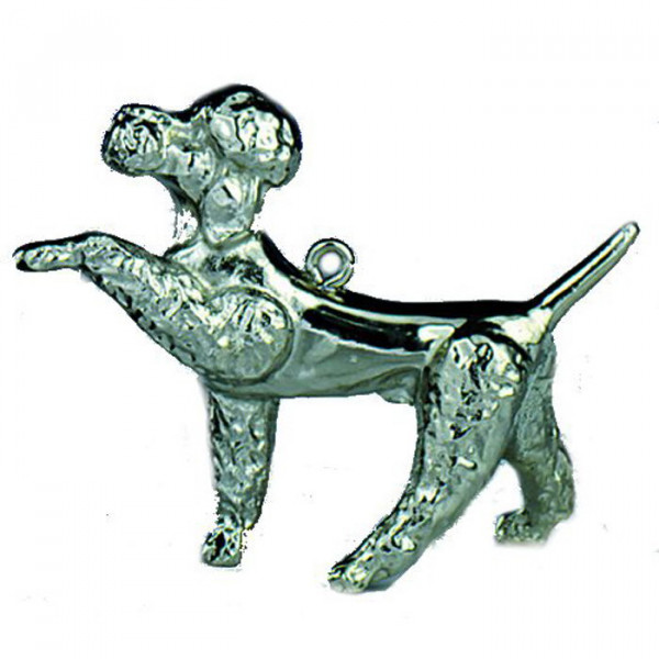 Figur Hund Pudel Hundetrainer Ehrung