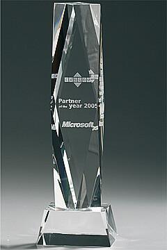 Crystal President Award Marie