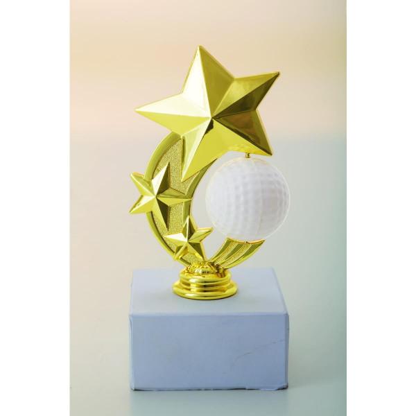 Figur rotierender Golfball
