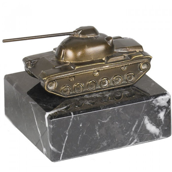 Figur Panzer Tank Metalldesign Trophäe Ehrenpreis