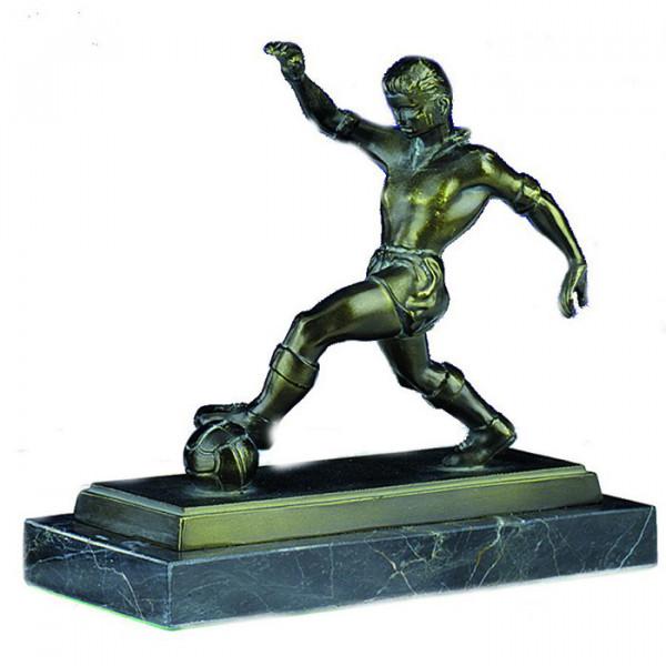 Sport Figur Fußballer Herren Verein Ehrung