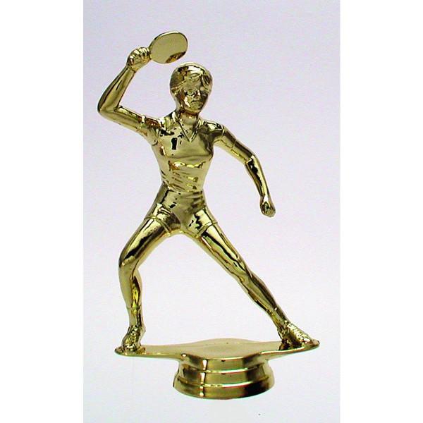 Tischtennispokal Damen Gold