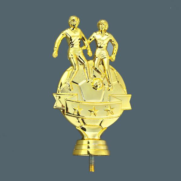 Frauenfußball Pokal Gold