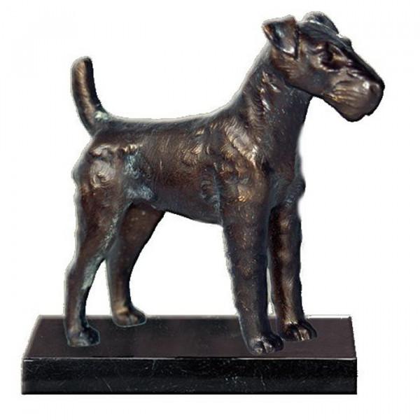 Figur Hund Foxterrier - Terrier Verein Auszeichnung Sporttrophäe